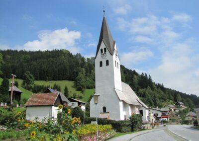Stmk - Salla - Katholische Pfarrkirche Hl. Peter und Paul