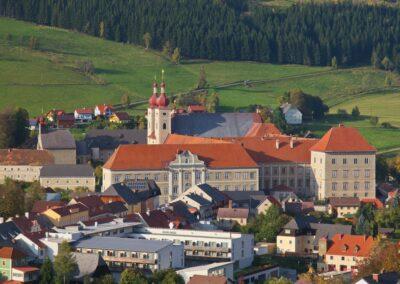 Stmk - Sankt Lambrecht -Gesamtanlage Benediktinerstift