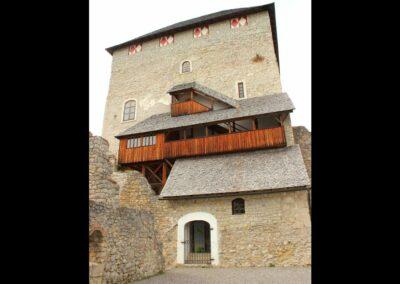 Stmk - St. Gallen - Burgruine Gallenstein
