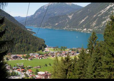Tirol - Achenkirch - Blick auf die Gemeinde