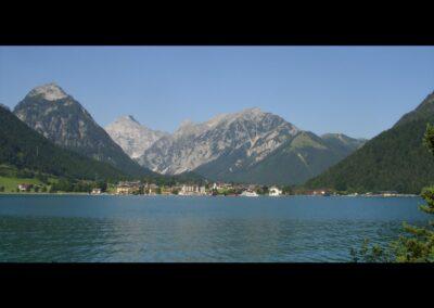 Tirol - Achensee mit Blick auf Achenkirch