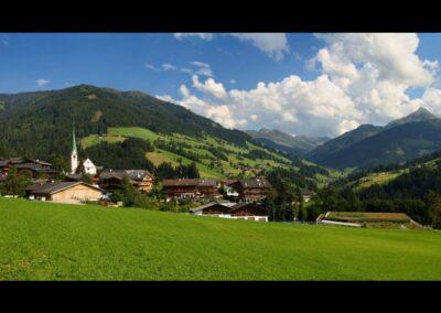 Tirol - Alpbach - Blick auf die Gemeinde