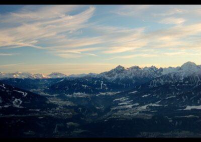 Tirol - Berglandschaft rund um die Stadt Innsbruck