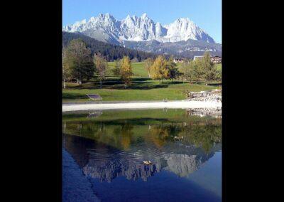 Tirol - Bergsee im Kaisergebirge