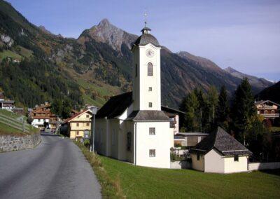 Tirol - Brandberg - Gemeinde mit der Pfarrkirche