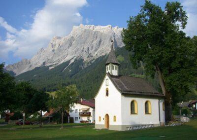 Tirol - Ehrwald - Ortskapelle Hl. Martin im Holz