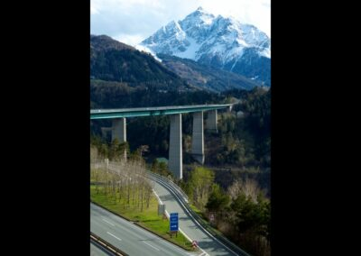 Tirol - Europabrücke Brennerautobahn A12