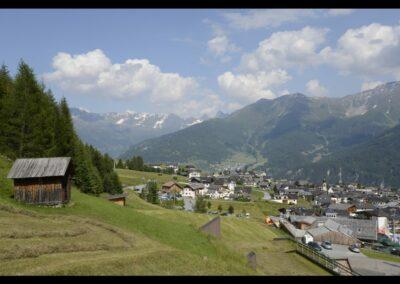 Tirol - Fiss - Blick auf die Gemeinde