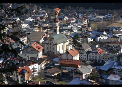 Tirol - Fulpmes - Gemeinde mit der Pfarrkirche
