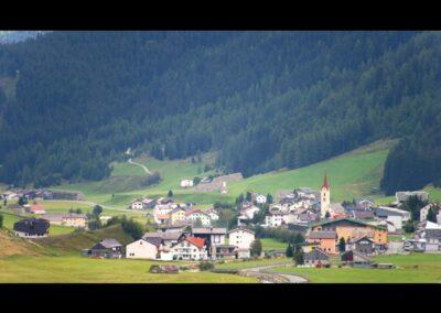 Tirol - Galtür - Blick auf die Tourismusgemeinde
