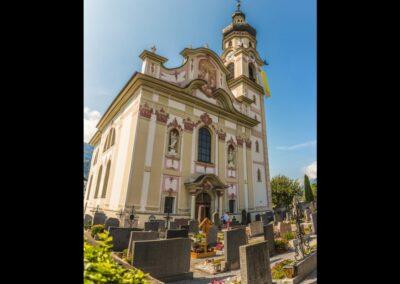 Tirol - Götzens - Pfarrkirche Hl. Peter und Paul