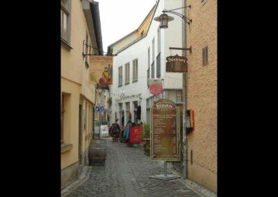 Tirol - Hall - Gasse in der Altstadt