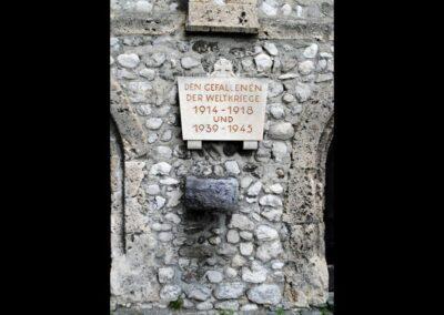 Tirol - Hall - Kriegergedächtnisstätte in der St. Magdalenenkapelle