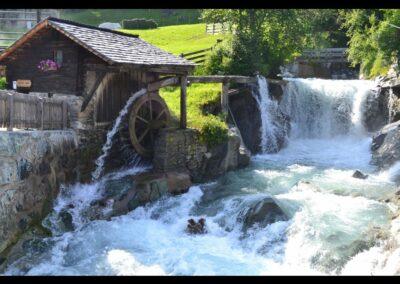Tirol - Hinterbichl - Islitzer Mühle, Getreidemühle am Islitzbach