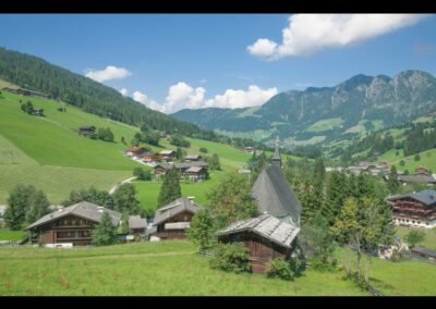 Tirol - Inneralpbach - Dorf im Alpbachtal