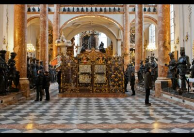 Tirol - Innsbruck - Kenotaph Kaiser Maximilians I. in der Hofkirche