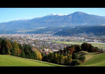 Tirol - Innsbruck - Luftaufnahme