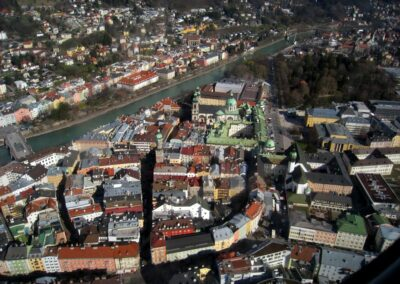 Tirol - Innsbruck - Luftbild