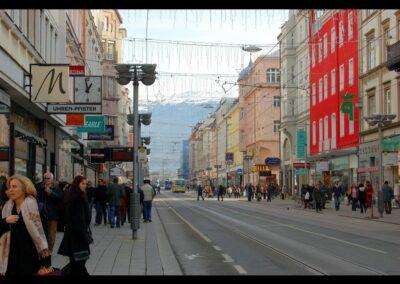 Tirol - Innsbruck - Museumstrasse