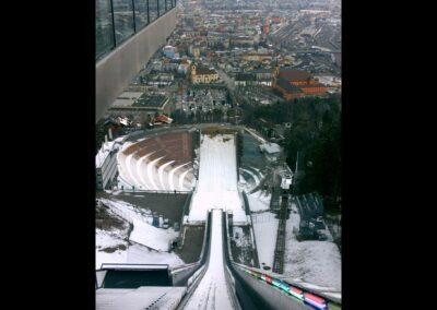 Tirol - Innsbruck - Skisprungschanzeauf dem Berg Isel 4