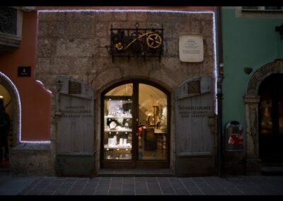Tirol - Innsbruck - Uhrmacher in der Altstadt