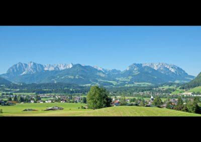 Tirol - Kössen - Panoramaansicht