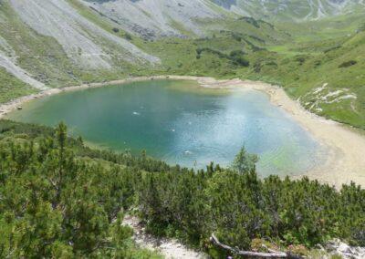 Tirol - Lache - ein kleiner See in den Tiroler Bergen
