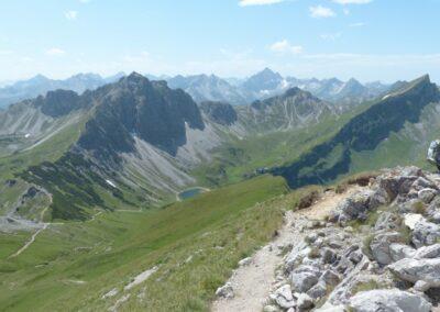 Tirol - Lachenspitze, Steinkarspitze, rote Spitze