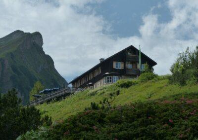 Tirol - Landsberger-Hütte im Ttannheimer Tal 2