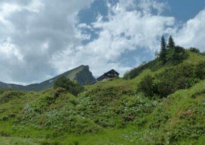 Tirol - Landsberger-Hütte im Ttannheimer Tal