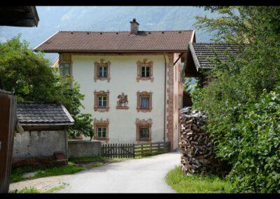 Tirol - Mieders - Bürgerhaus in der Gemeinde