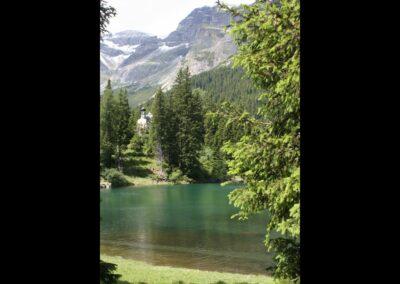 Tirol - Obernberger See mit Kapelle Maria am See