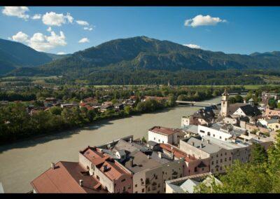 Tirol - Rattenberg - Blick auf die Stadt