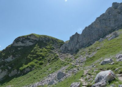 Tirol - Saalfelder Höhenweg Vilsalpsee