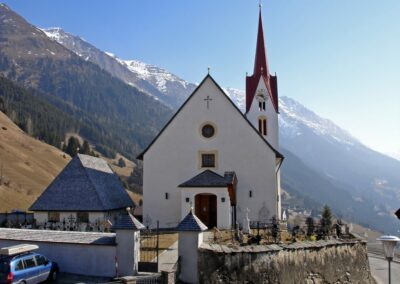 Tirol - Sankt Veit in Defereggen - katholische Pfarrkirche Hl. Vitusin