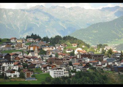 Tirol - Serfaus - Gemeinde Serfaus im Sommer