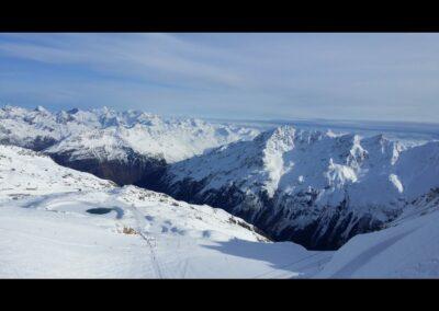 Tirol - Skifahren im Skigebiet Sölden - Ötztal
