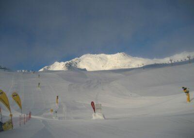 Tirol - Skipiste in Sölden