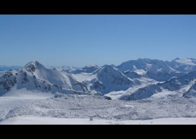 Tirol - Skipisten im Stubaital