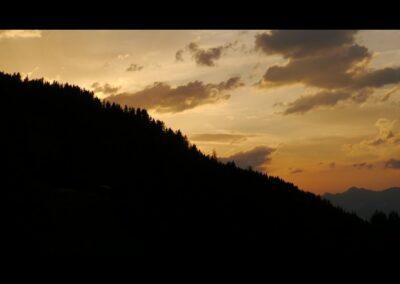 Tirol - Sonnenuntergang in den Tiroler Bergen
