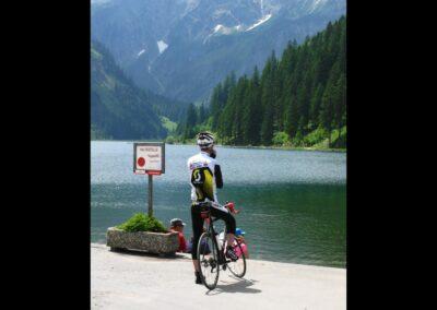 Tirol - Vilsalpsee - Touristenziel im Tannheimer Tal
