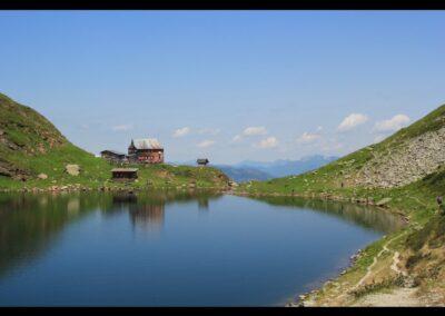 Tirol - Wildsee Loderhaus unterhalb des Wildsee Loders