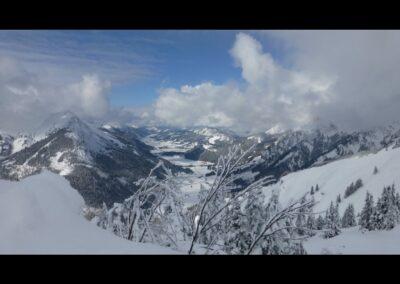 Tirol - Winterlandschaft im Tannheimer Tal 2