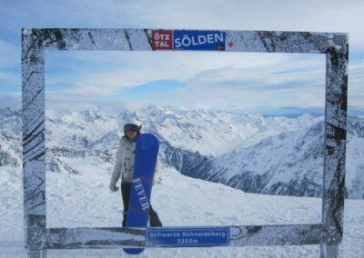 Tirol - Wintersport in der Skiregion Sölden