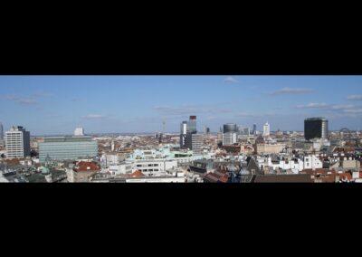 Bild zeigt: Blick auf Wien