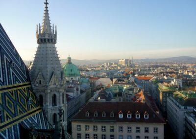 Bild zeigt: Blick über Wien
