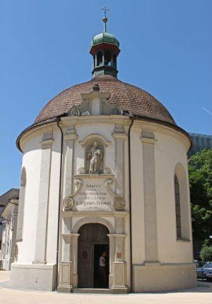 Bild zeigt: Nepomuk Kapelle in Bregenz