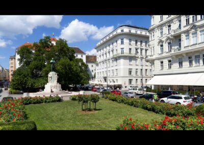 Bild zeigt: Sommer in der Wiener City