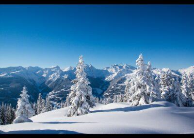 Bild zeigt: Bartholomäberg - Winter in den Bergen