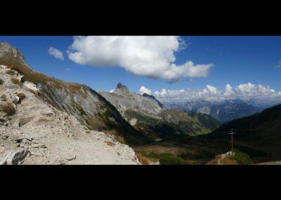 Bild zeigt: Bergpanorama im Montafon